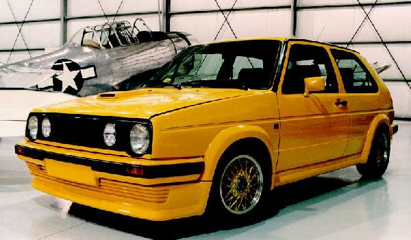 VW Golf Syncro Prototype
